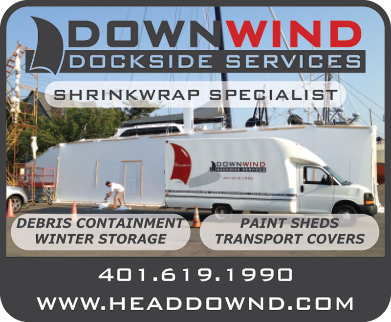 Downwind Dockside Services Advertisement