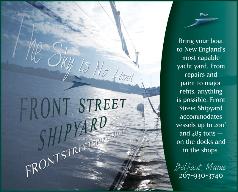 Front Street Shipyard Advertisement