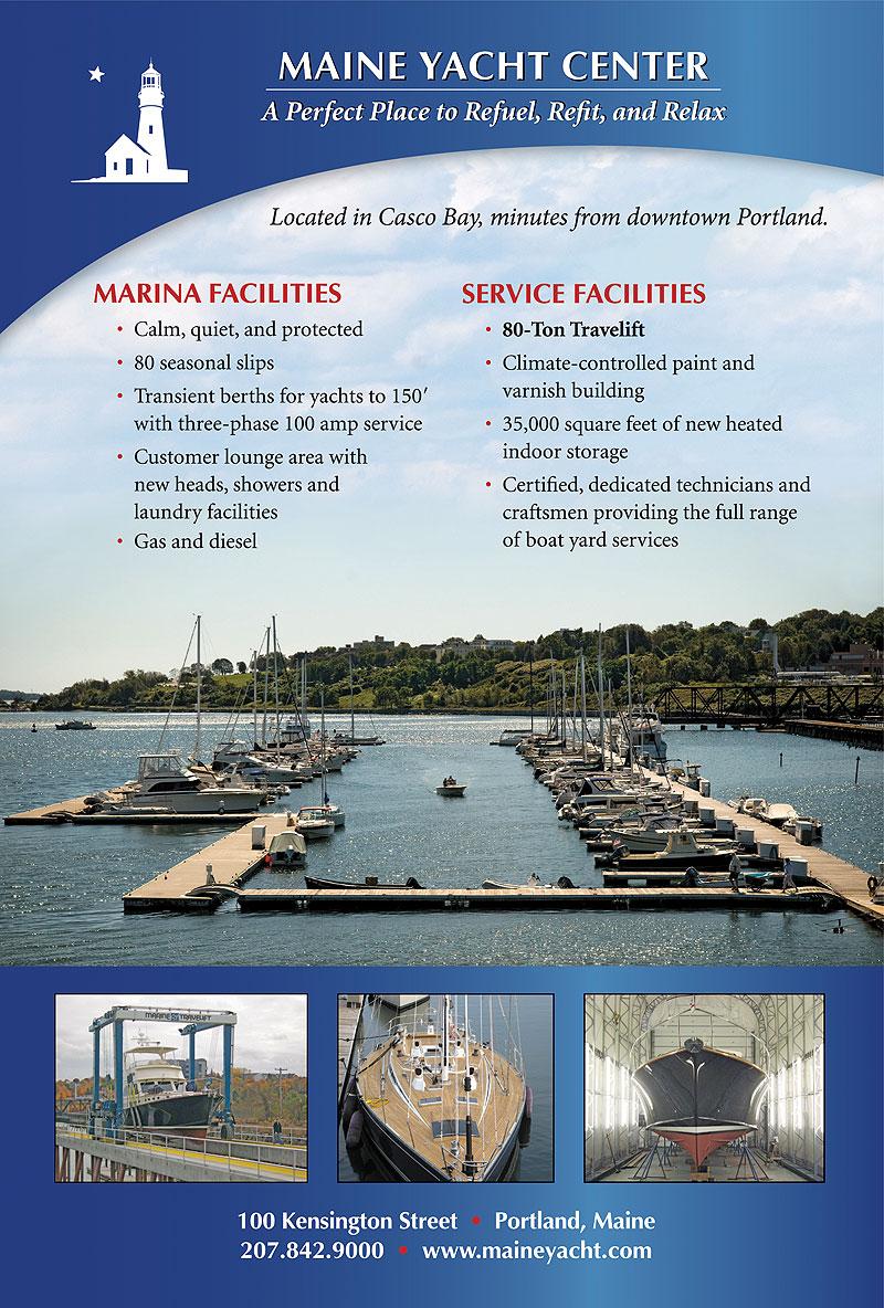 Maine Yacht Center Advertisement