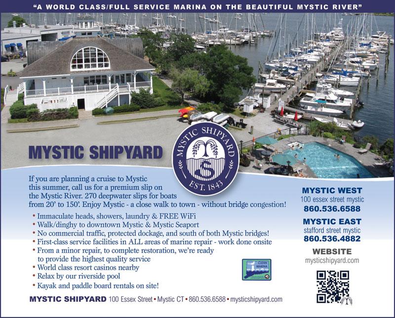Mystic Shipyard Advertisement