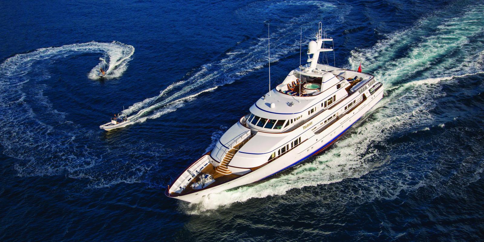 Large yacht