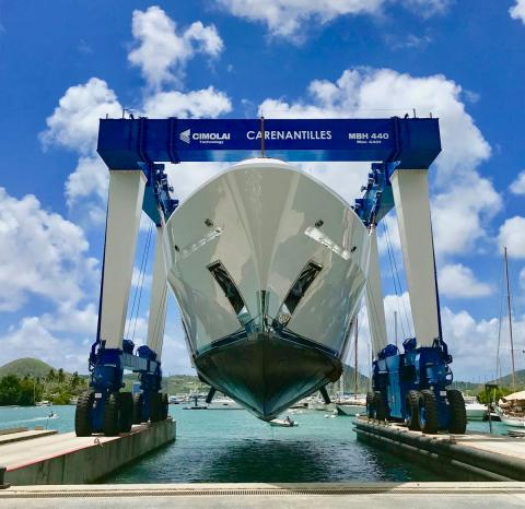 A milestone for Carenantilles Shipyard!