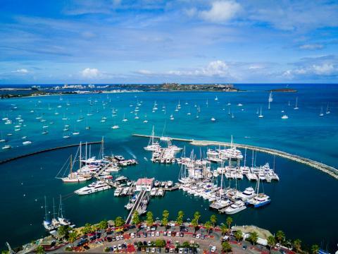 caribbean yacht season st marteen marinas