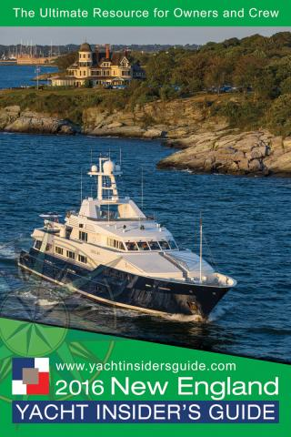 2016 New England Yacht Insider's Guide