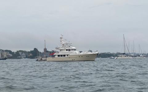 Nordhaven Yacht, Goat Island, Newport, RI