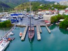 Superyacht Rox Star completes month-long stay at Carenantilles in Martinique