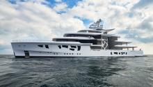 One of the world's leading hybrid yachts is ARTEFACT